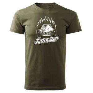 Lovelas, koszulka tshirt militarny z nadrukiem DTG062
