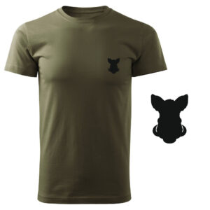 Koszulka t-shirt dzik myśliwska myśliwy z nadrukiem DTG081
