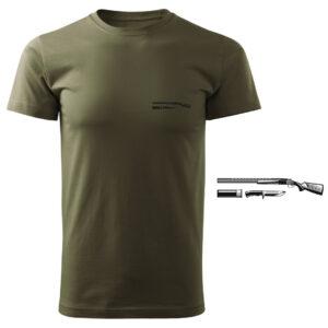Koszulka t-shirt myśliwska myśliwy z nadrukiem DTG088