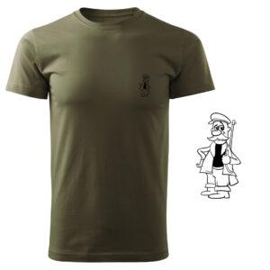 Koszulka t-shirt myśliwska myśliwy z nadrukiem DTG089