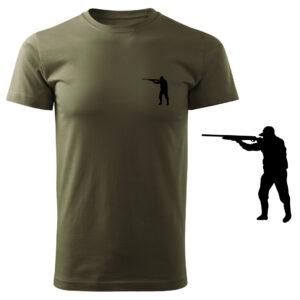Koszulka t-shirt myśliwska z nadrukiem DTG068