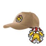 Piaskowa czapka strażacka z daszkiem WZÓR 09 WSP PLT